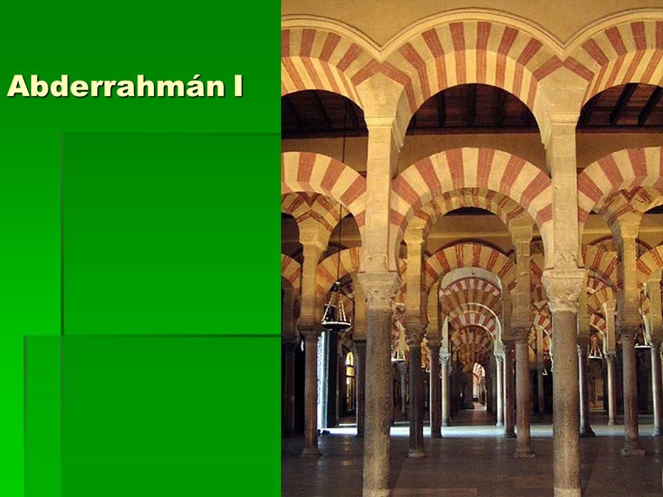 Abderrahmán I Arte islámico