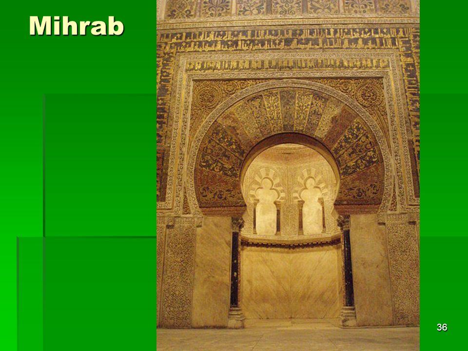 Mihrab Arte islámico