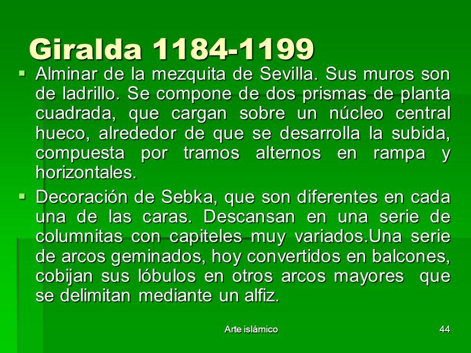 Giralda 1184-1199