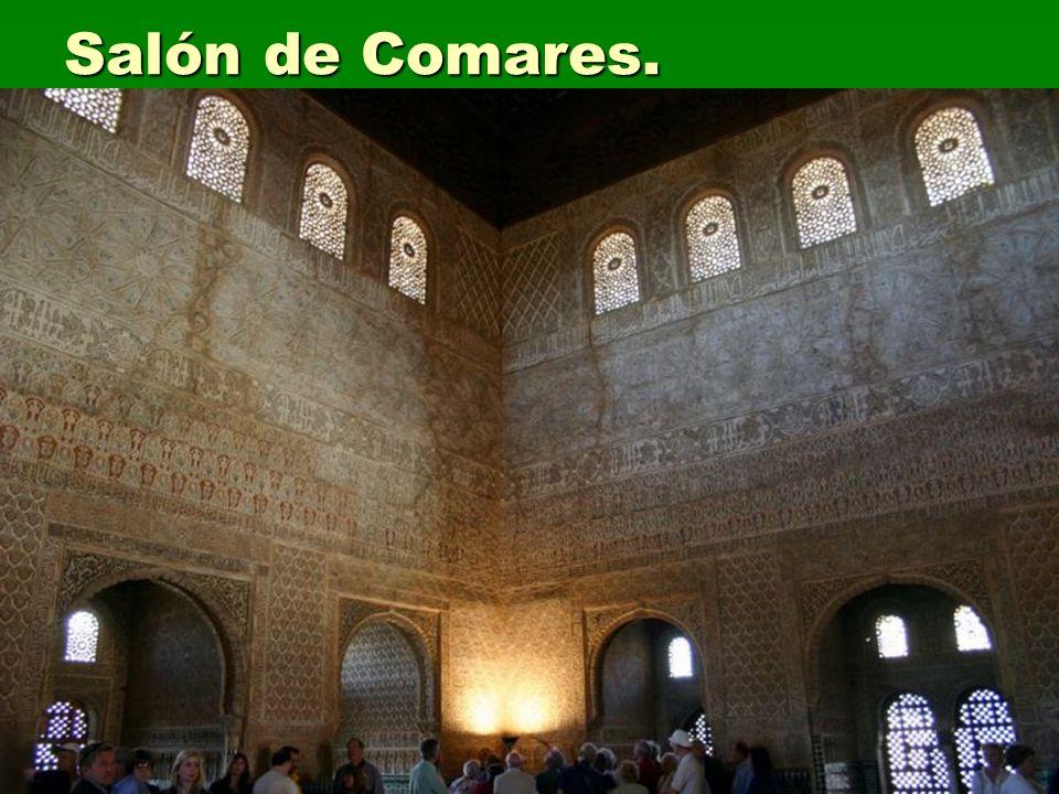 Salón de Comares. Arte islámico
