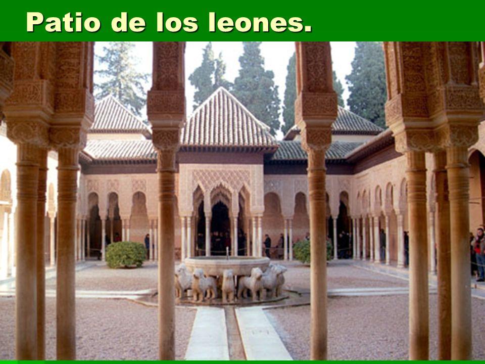 Patio de los leones. Arte islámico