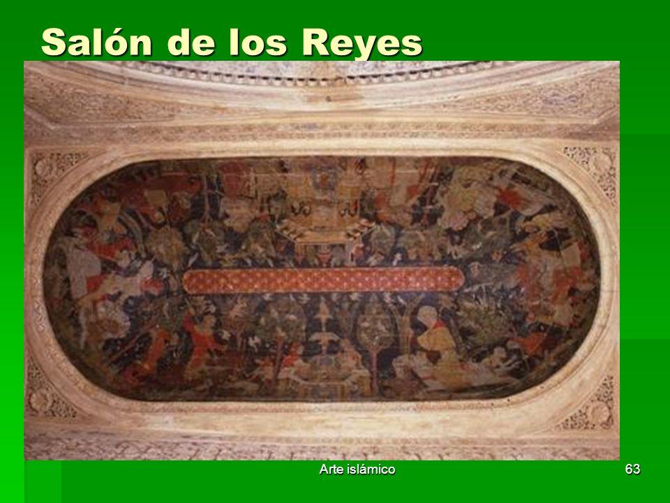 Salón de los Reyes Arte islámico