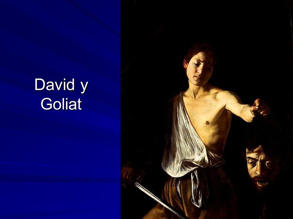 David y Goliat Pintura barroca