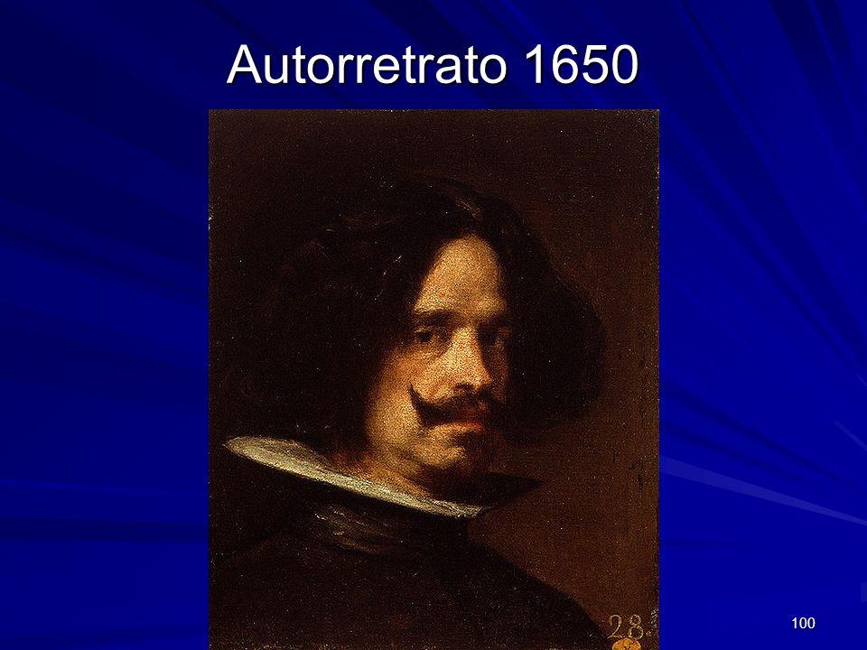 Autorretrato 1650 Pintura barroca