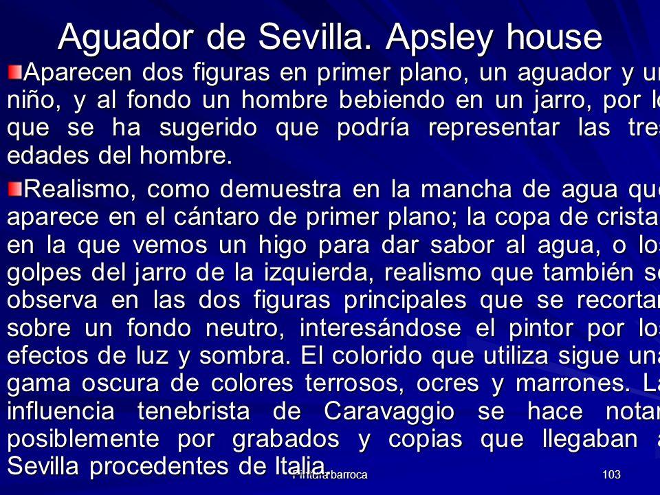 Aguador de Sevilla. Apsley house