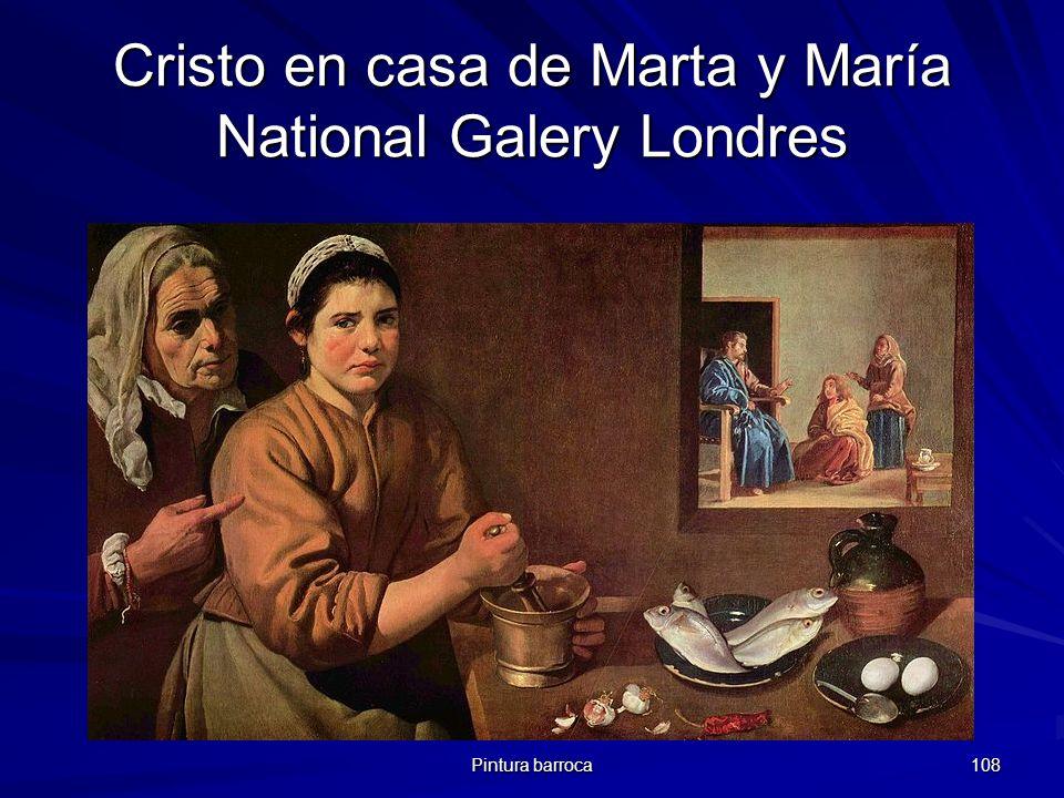 Cristo en casa de Marta y María National Galery Londres