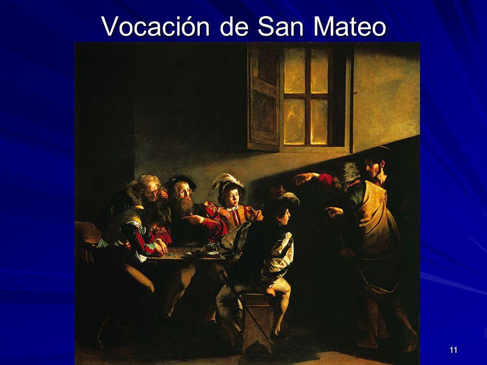 Vocación de San Mateo Pintura barroca