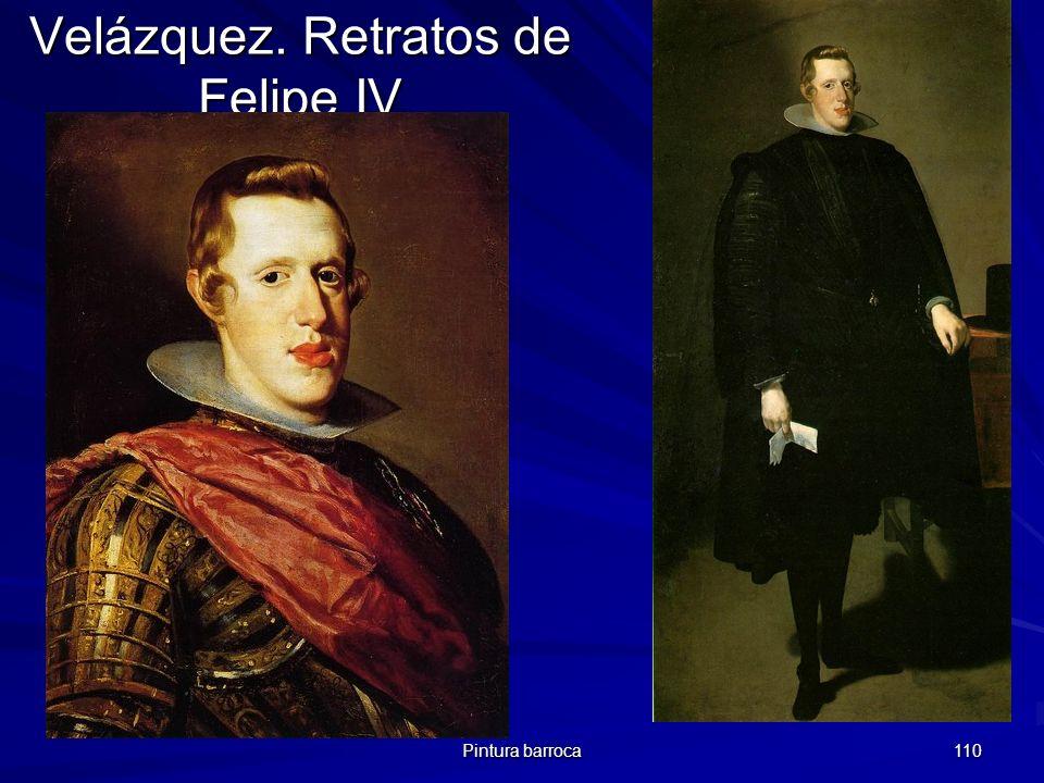 Velázquez. Retratos de Felipe IV