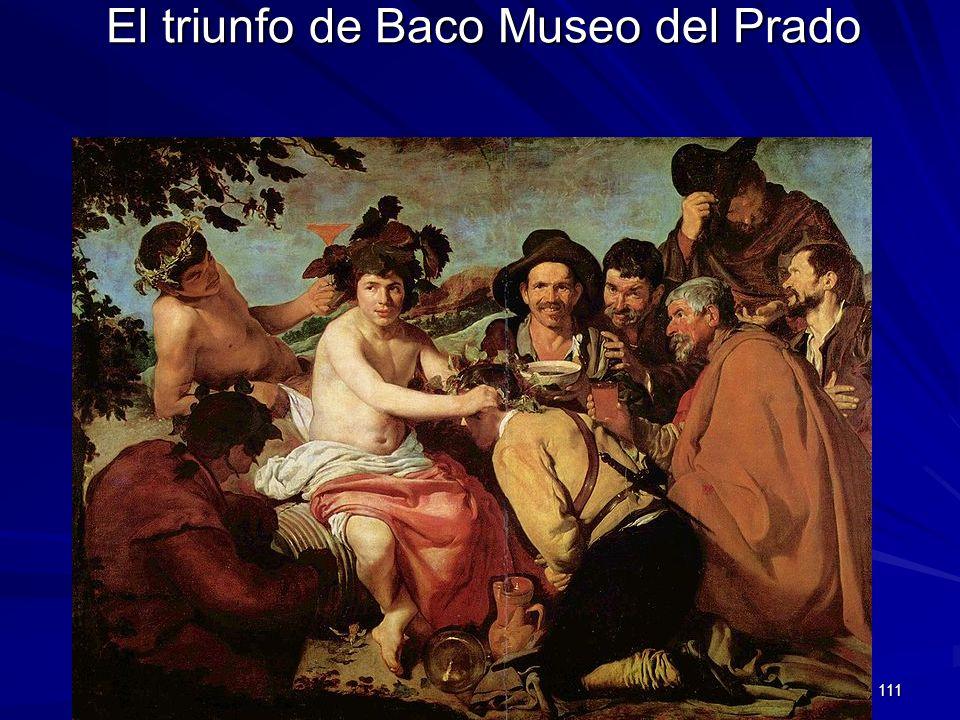 El triunfo de Baco Museo del Prado