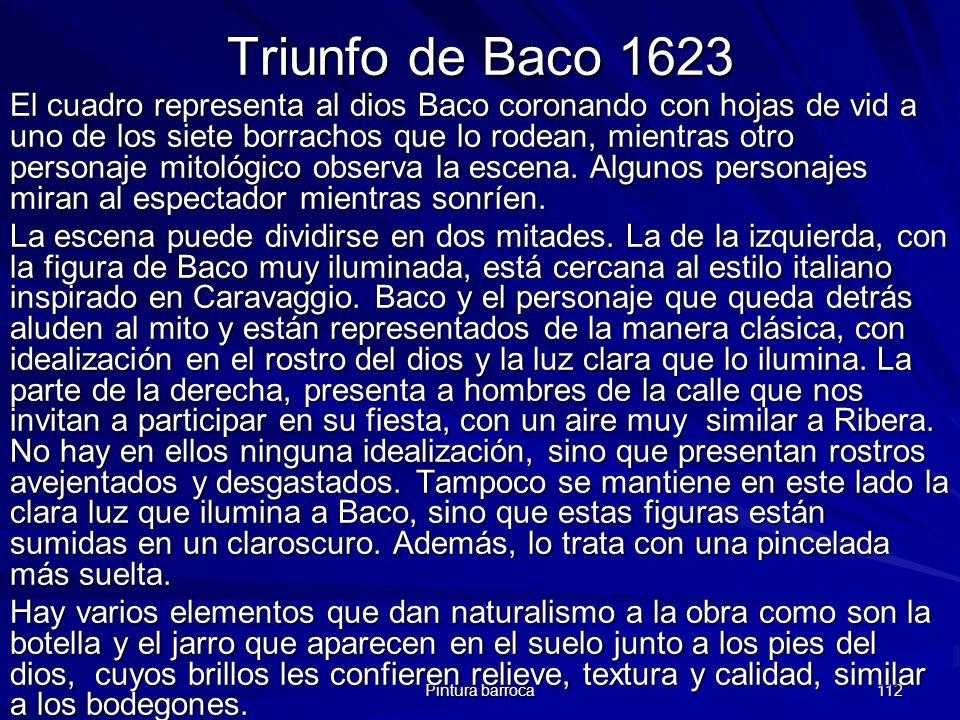Triunfo de Baco 1623