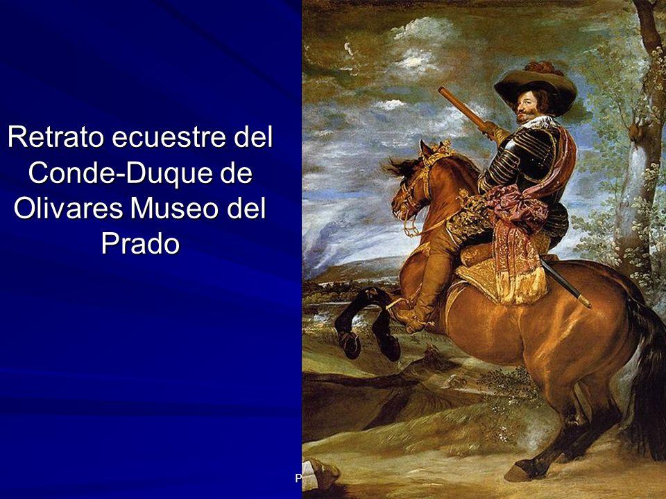 Retrato ecuestre del Conde-Duque de Olivares Museo del Prado