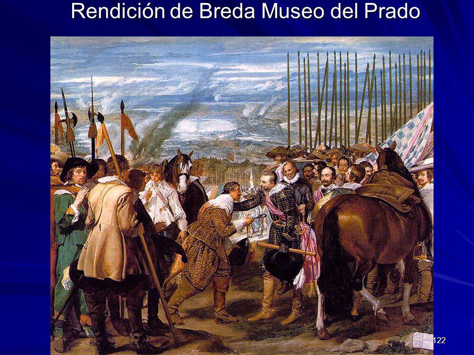 Rendición de Breda Museo del Prado
