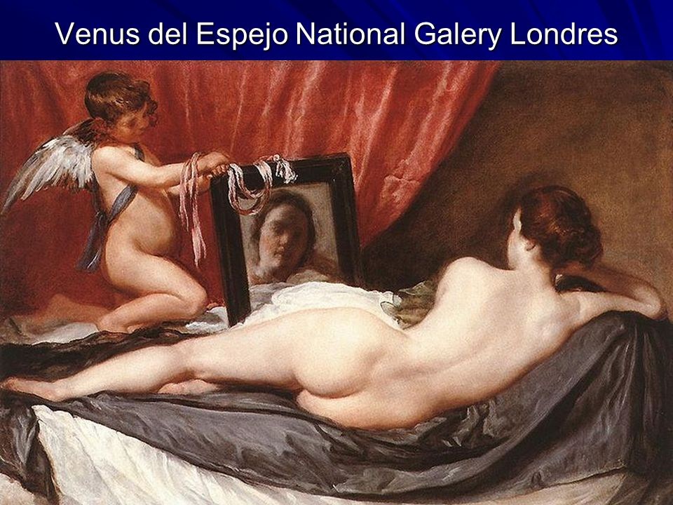 Venus del Espejo National Galery Londres