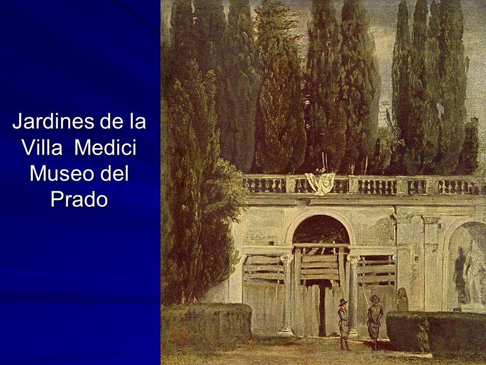 Jardines de la Villa Medici Museo del Prado