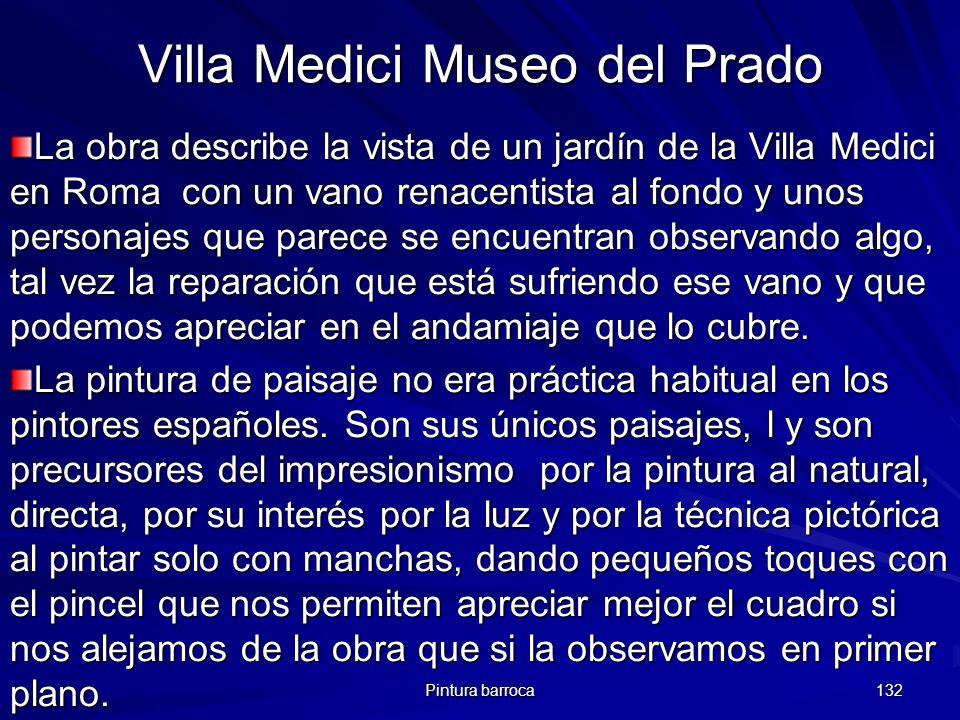 Villa Medici Museo del Prado