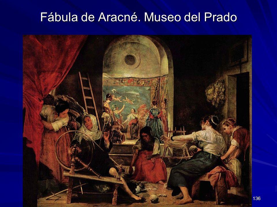 Fábula de Aracné. Museo del Prado