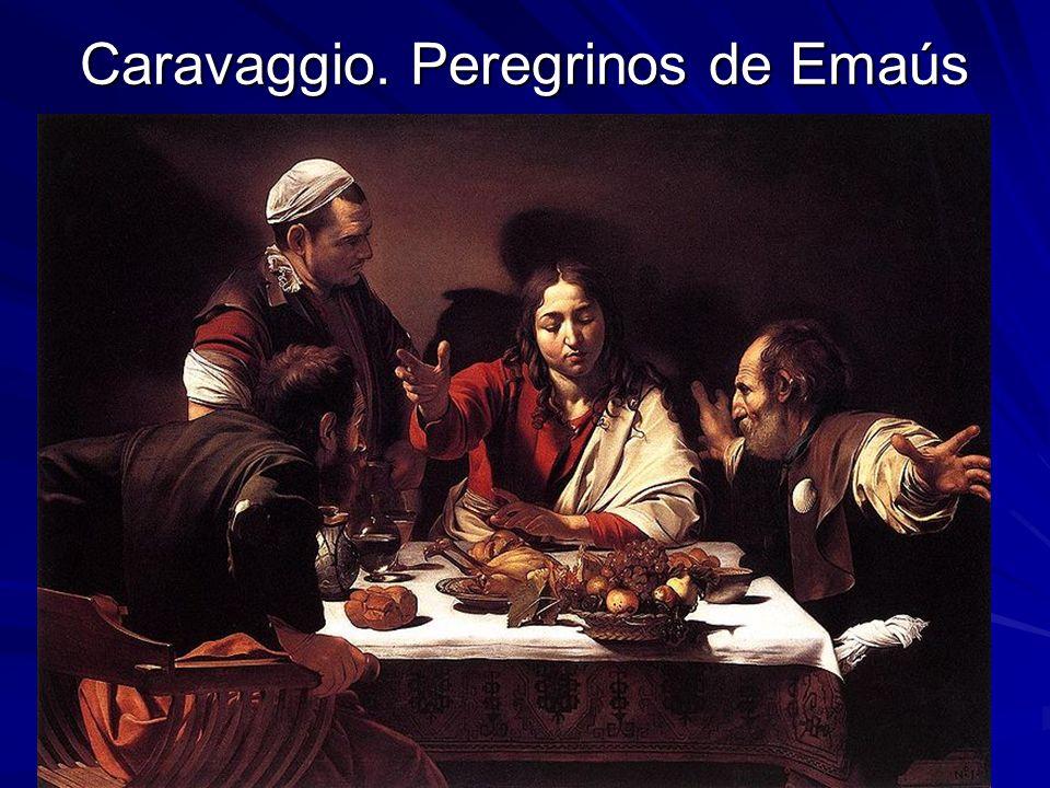 Caravaggio. Peregrinos de Emaús