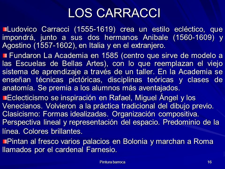 LOS CARRACCI