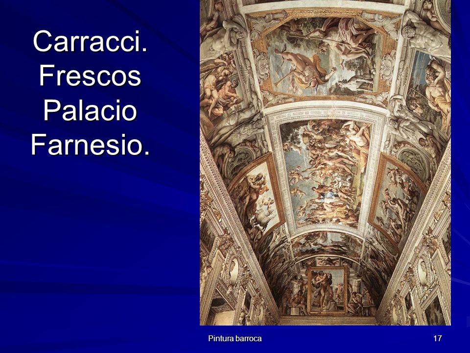 Carracci. Frescos Palacio Farnesio.