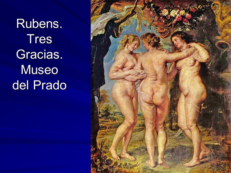 Rubens. Tres Gracias. Museo del Prado