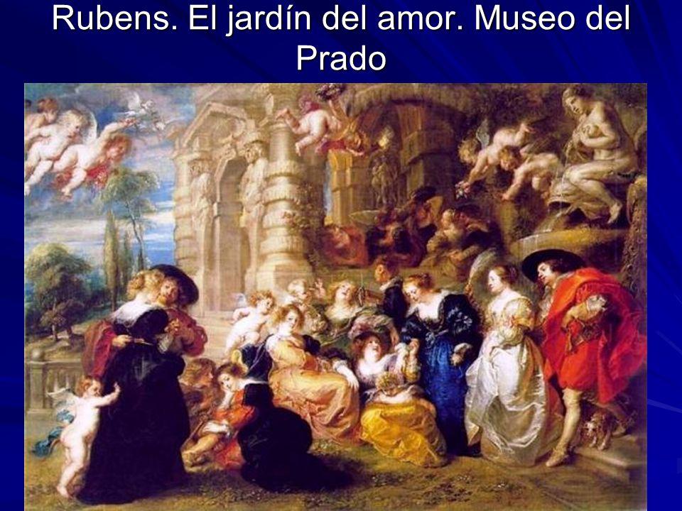 Rubens. El jardín del amor. Museo del Prado