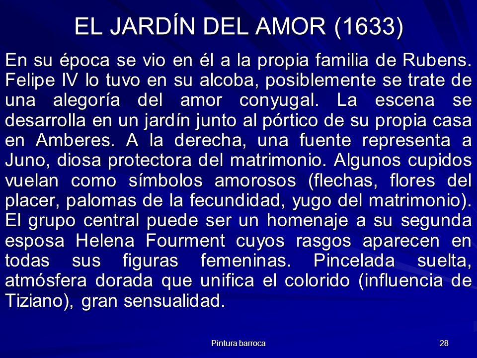 EL JARDÍN DEL AMOR (1633)