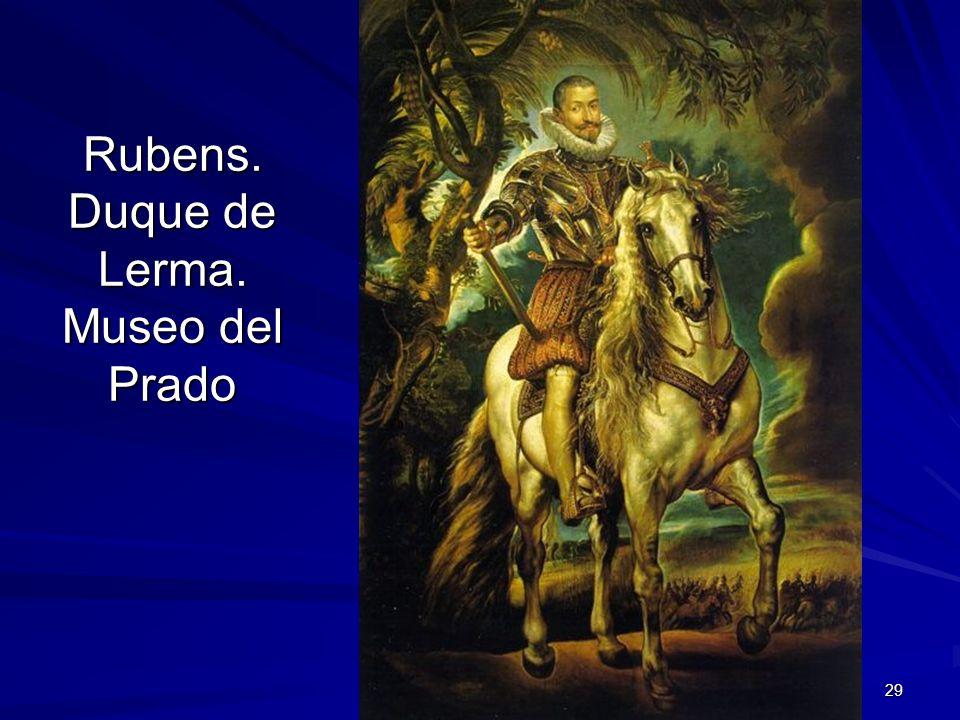 Rubens. Duque de Lerma. Museo del Prado