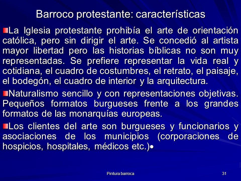 Barroco protestante: características