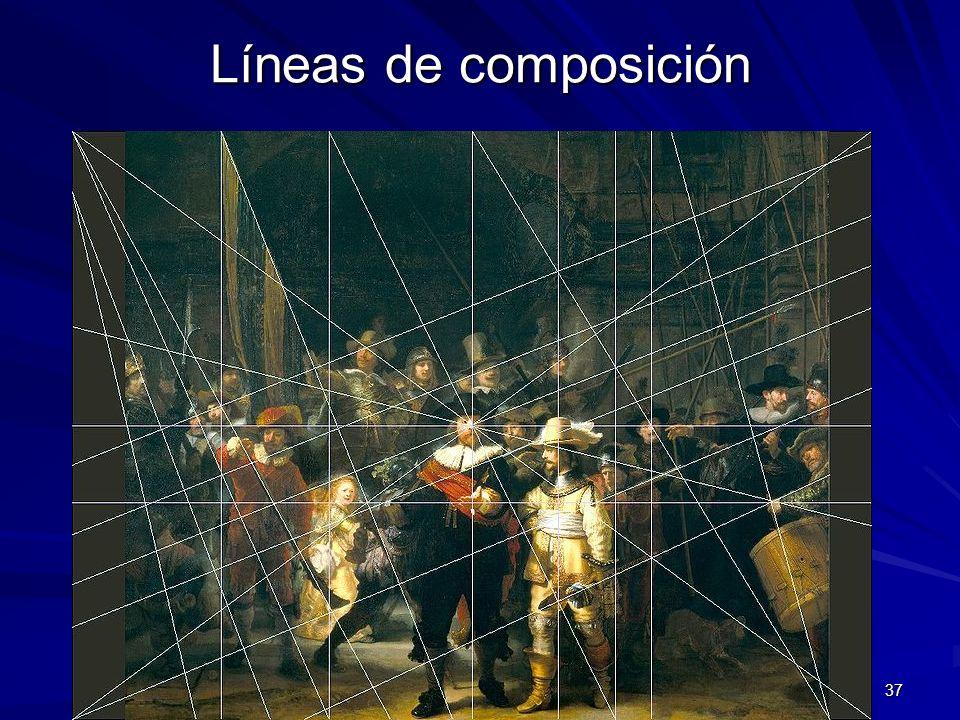 Líneas de composición Pintura barroca