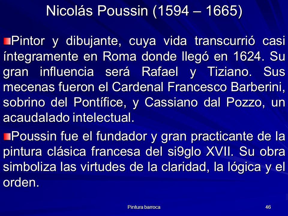 Nicolás Poussin (1594 – 1665)