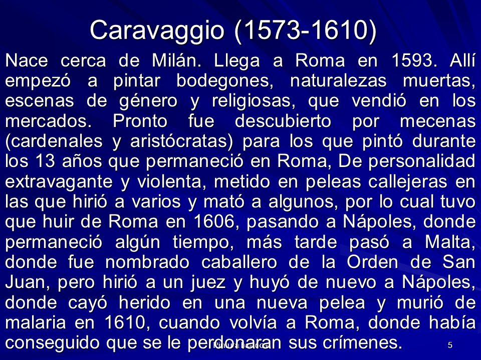 Caravaggio (1573-1610)