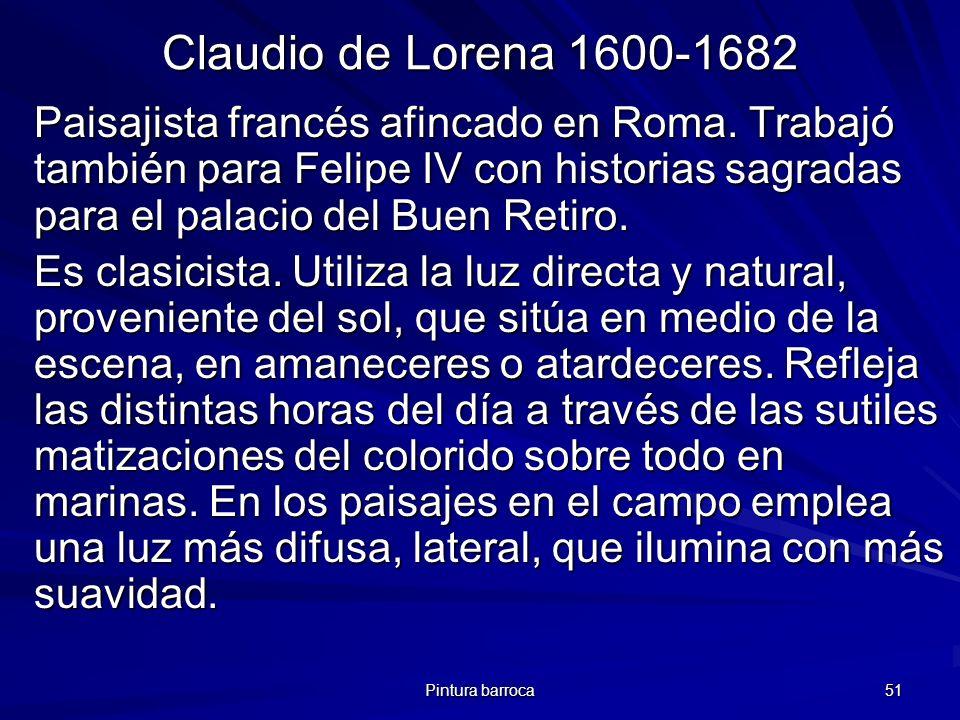 Claudio de Lorena 1600-1682
