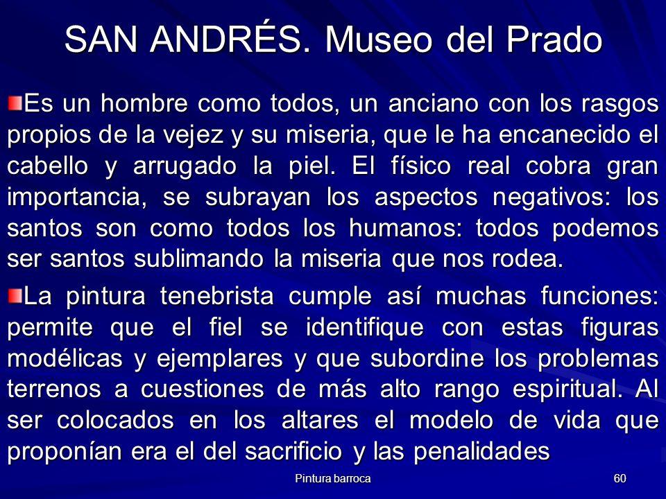 SAN ANDRÉS. Museo del Prado