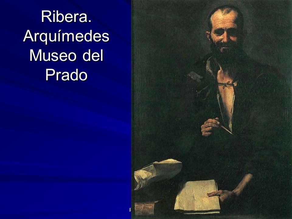 Ribera. Arquímedes Museo del Prado