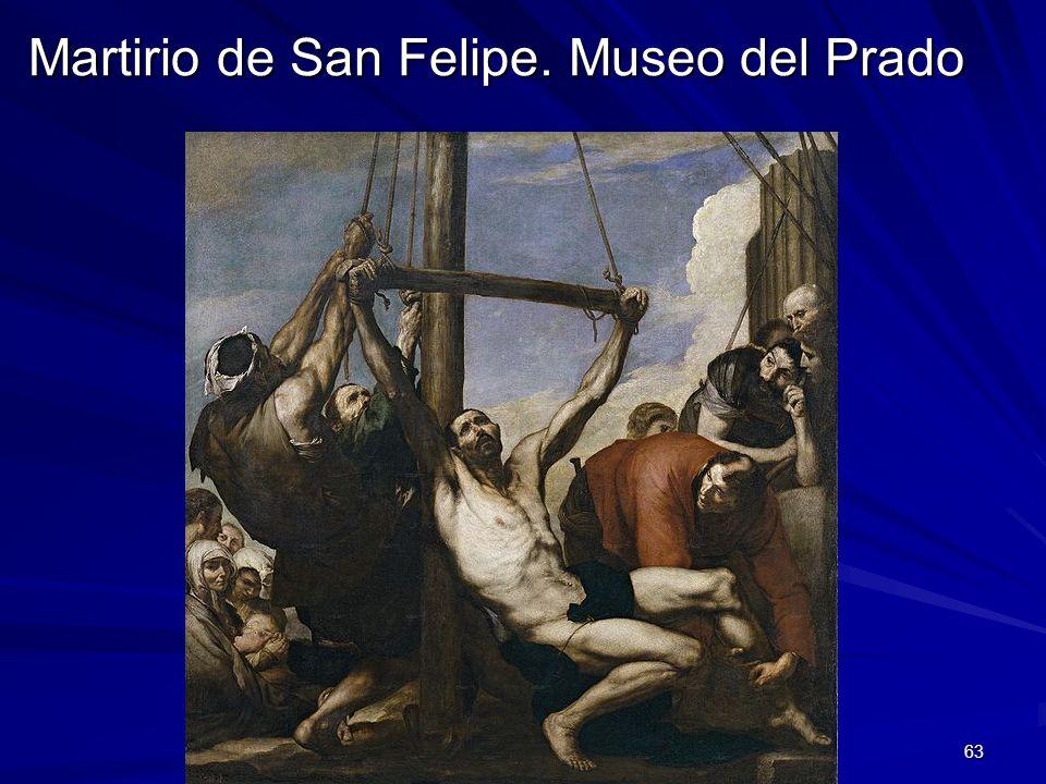 Martirio de San Felipe. Museo del Prado