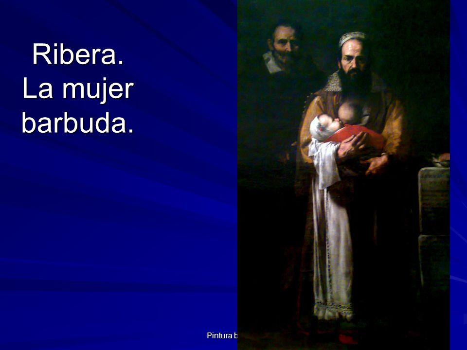 Ribera. La mujer barbuda.