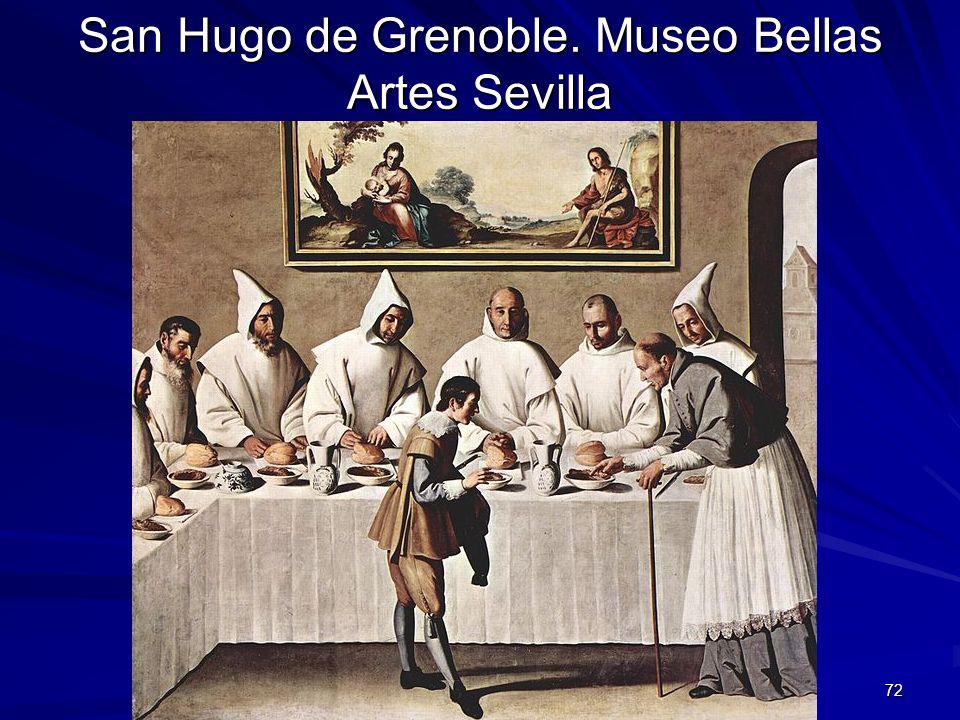 San Hugo de Grenoble. Museo Bellas Artes Sevilla