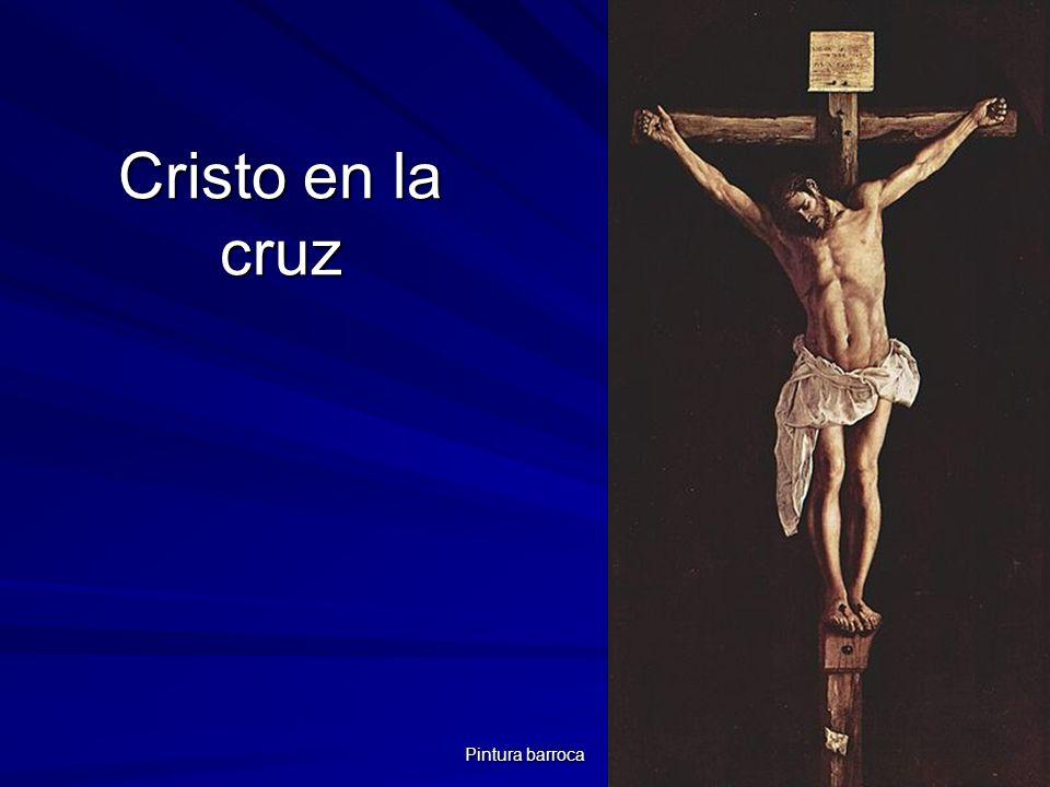 Cristo en la cruz Pintura barroca