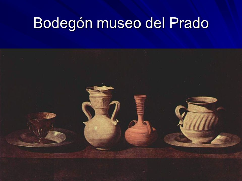 Bodegón museo del Prado