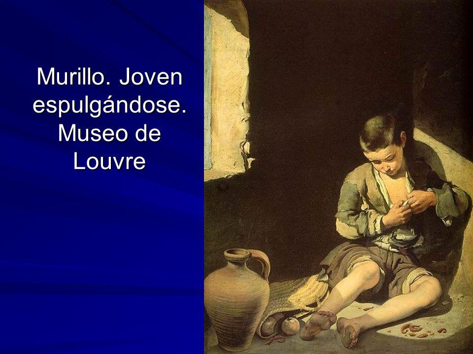 Murillo. Joven espulgándose. Museo de Louvre