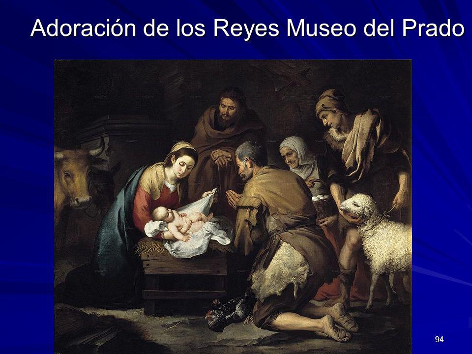 Adoración de los Reyes Museo del Prado