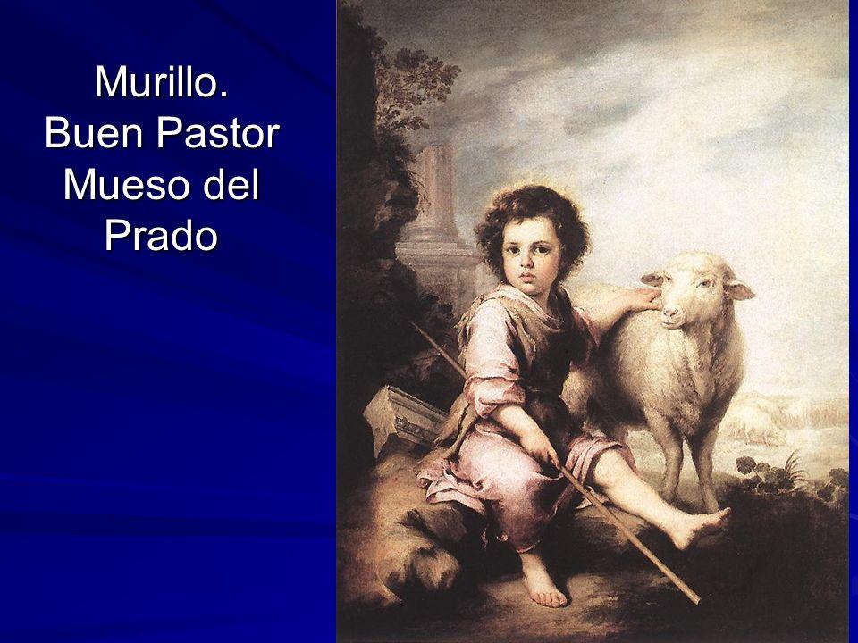 Murillo. Buen Pastor Mueso del Prado