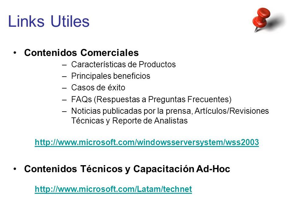 Links Utiles Contenidos Comerciales