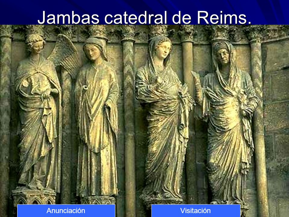 Jambas catedral de Reims.