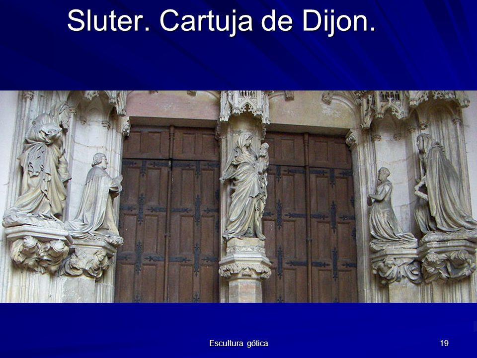 Sluter. Cartuja de Dijon.