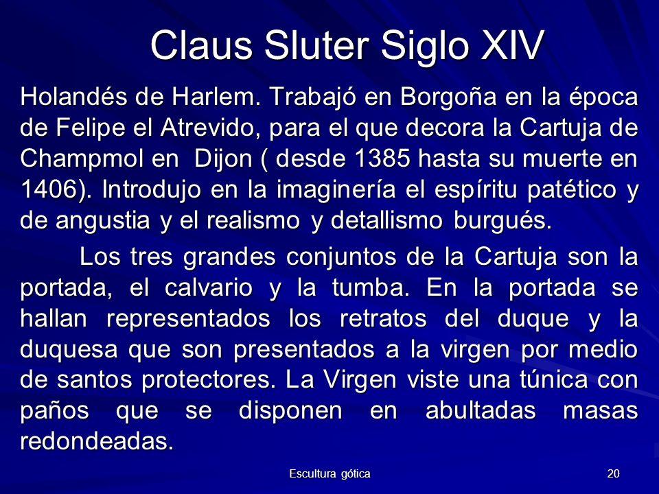 Claus Sluter Siglo XIV