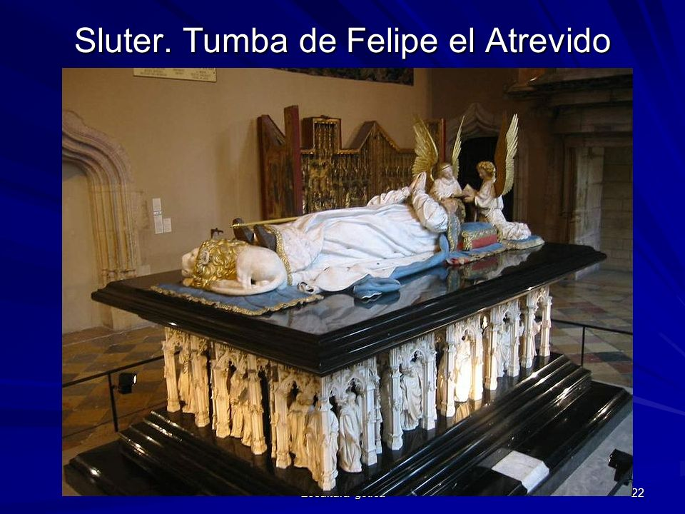 Sluter. Tumba de Felipe el Atrevido