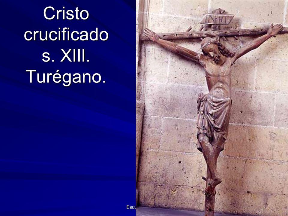 Cristo crucificado s. XIII. Turégano.