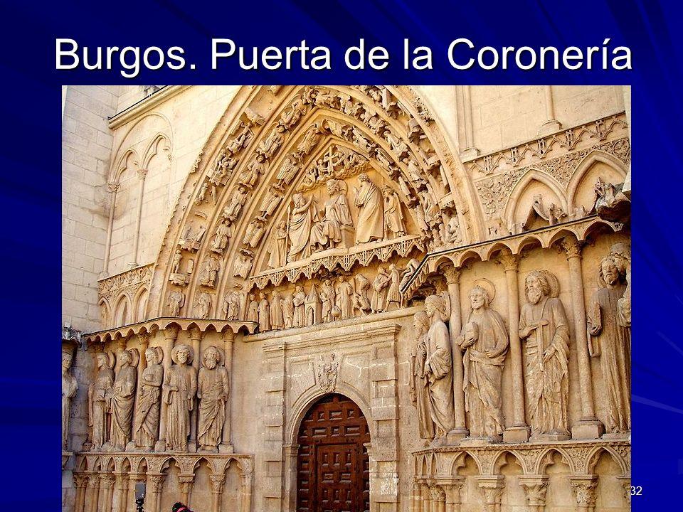 Burgos. Puerta de la Coronería