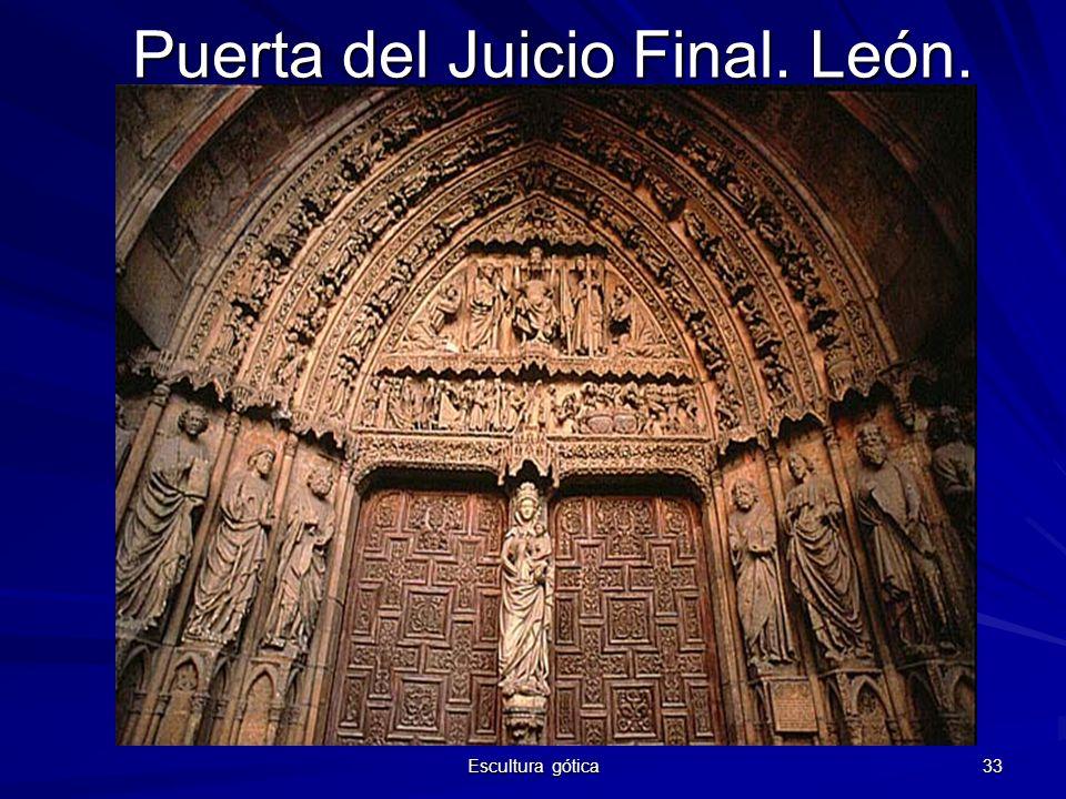 Puerta del Juicio Final. León.